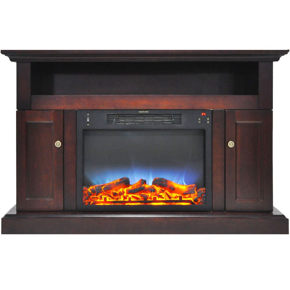 SE Fireplace with Multi-Color LED Insert and 47 In Entertain