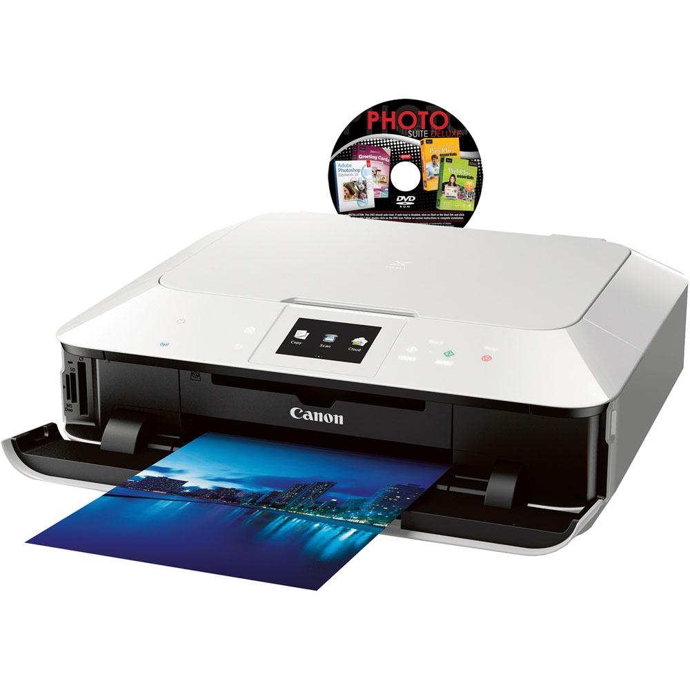 Canon PIXMA MG7120 Wireless Printer(8335B025) & Photo Suite Delux (50707-WS) at Sears.com