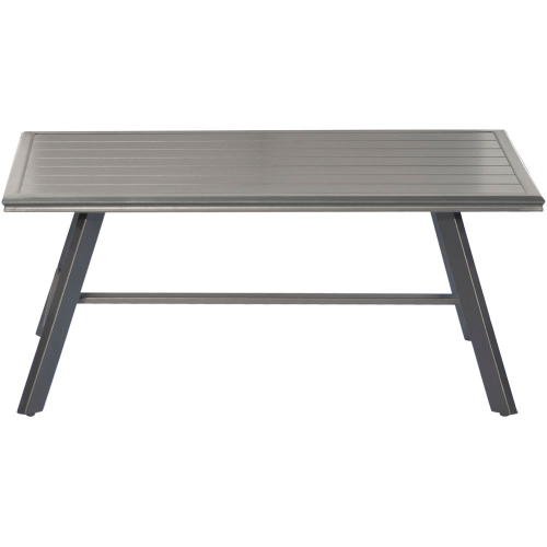Commercial Aluminum Slat Coffee Table
