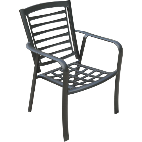 Edgemont Commercial Aluminum Dining Chair