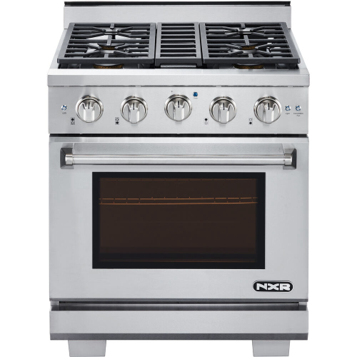 30-In. Culinary Series Professional Style Gas Range in Stainless Steel