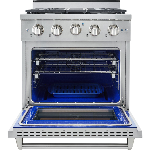 30-In. Culinary Series Professional Style Gas Range in Stainless Steel IMAGE
