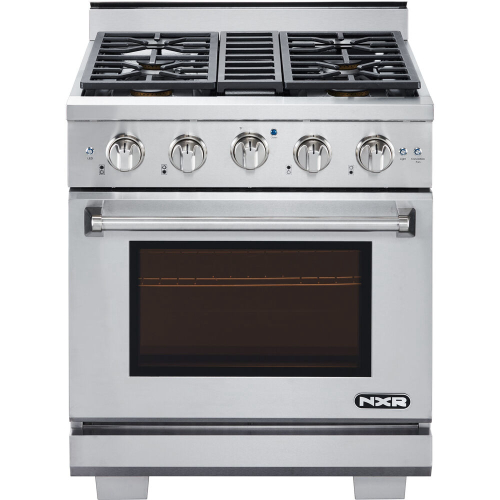 30-In. Culinary Series Professional Style LP Gas Range in Stainless Steel