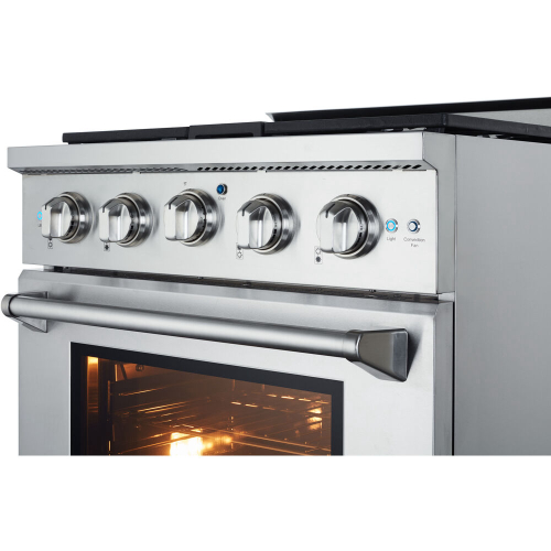 30-In. Culinary Series Professional Style LP Gas Range in Stainless Steel IMAGE
