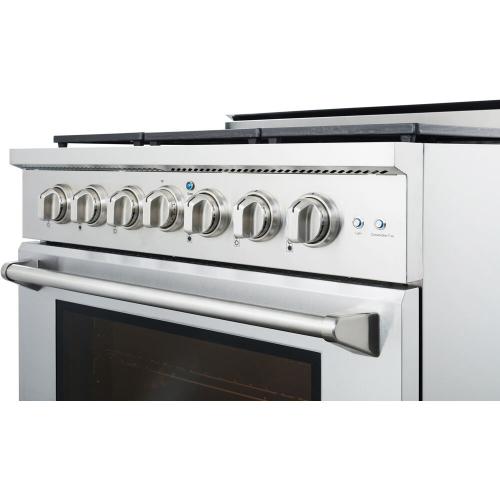 36-In. Culinary Series Professional Style Gas Range in Stainless Steel IMAGE