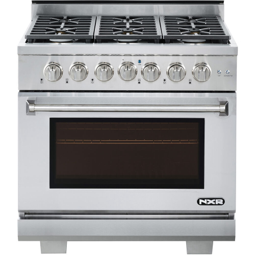 36-In. Culinary Series Professional Style Gas Range in Stainless Steel