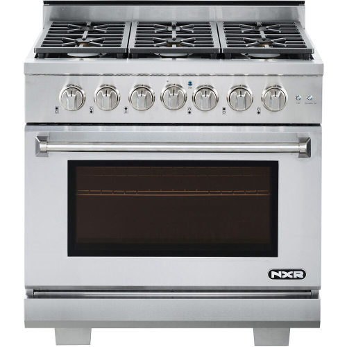 36-In. Culinary Series Professional Style LP Gas Range in Stainless Steel
