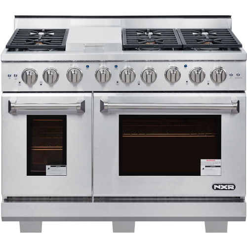 48-In. Culinary Series Professional Style LP Gas Range in Stainless Steel