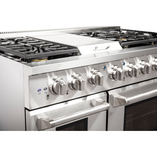 48-In. Culinary Series Professional Style LP Gas Range in Stainless Steel IMAGE