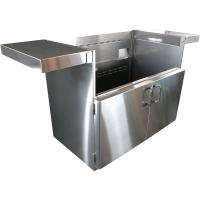 42-In. BBQ Cart with Two Doors LEFT