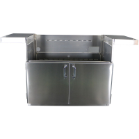 42-In. BBQ Cart with Two Doors