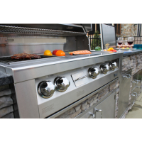 42-In. Built-In Natural Gas Grill in Stainless with Sear Zone LIFESTYLE2