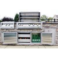 42-In. Built-In Natural Gas Grill in Stainless with Sear Zone LIFESTYLE3
